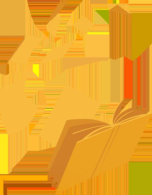 books flying